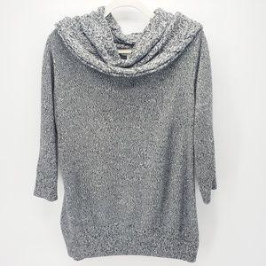 NY&Co | Marled Cowl Sweater | Gray
